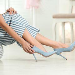 Haushalts-Tricks: Schuhe tragne