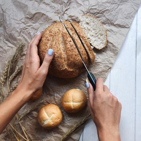 Haushalts-Tricks: Brot schneiden