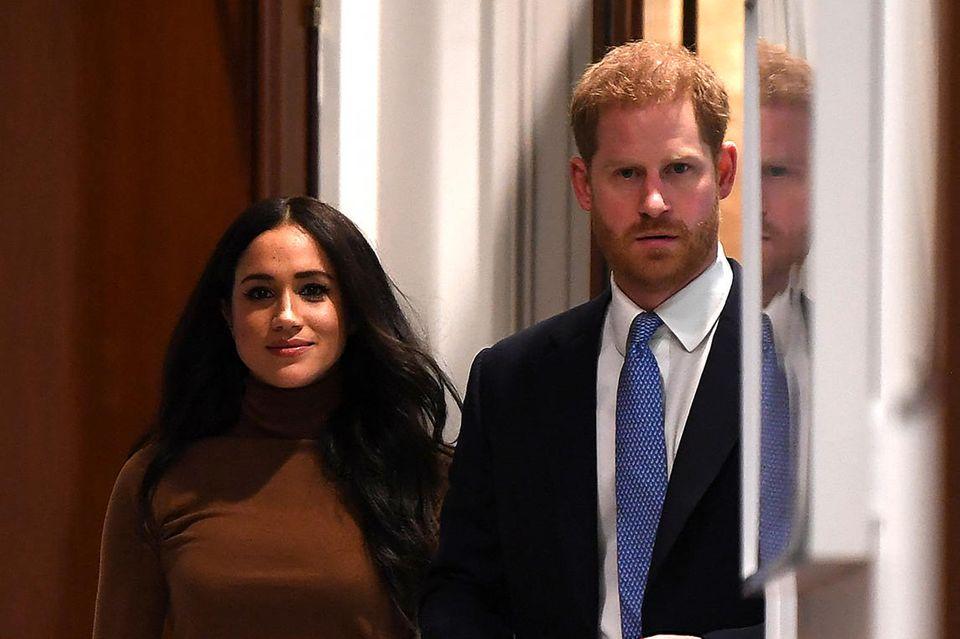 Prinz Harry + Herzogin Meghan: Das war am Megxit-Deal das Schmerzvollste