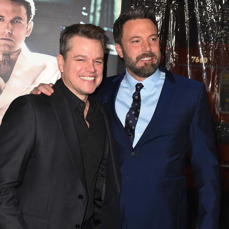 Famous Family: Matt Damon und Ben Affleck