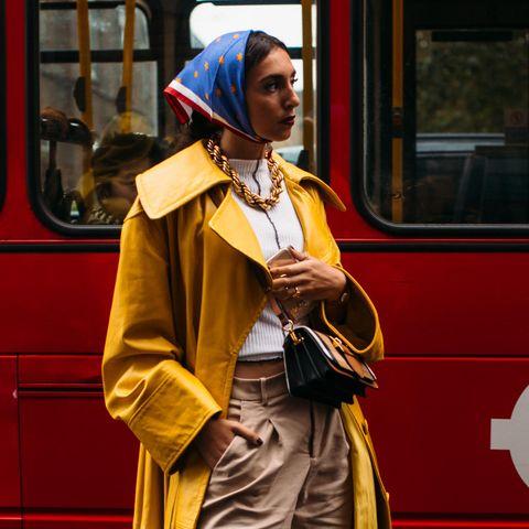 Kopftücher: London Fashion Week