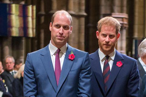 William und Harry sind auf Distanz zueinander gegangen