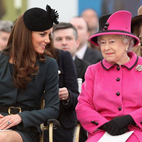 Royals: Herzogin Kate: Queen Elizabeth gibt Statement heraus