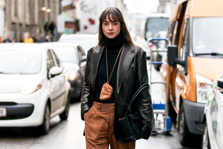 Herbsttrend braune Hosen: Copenhagen Fashion Week Fall/Winter 21