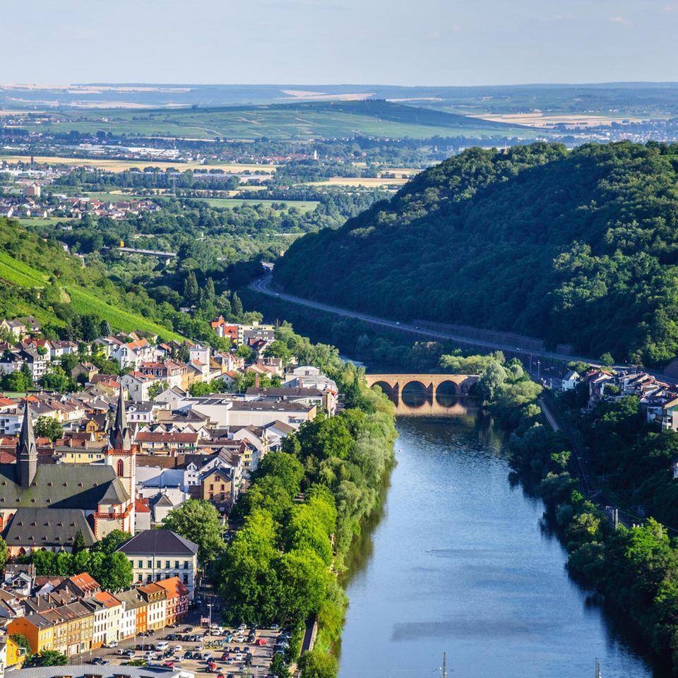 Elektroauto E-Roadtrips: Bingen am Rhein