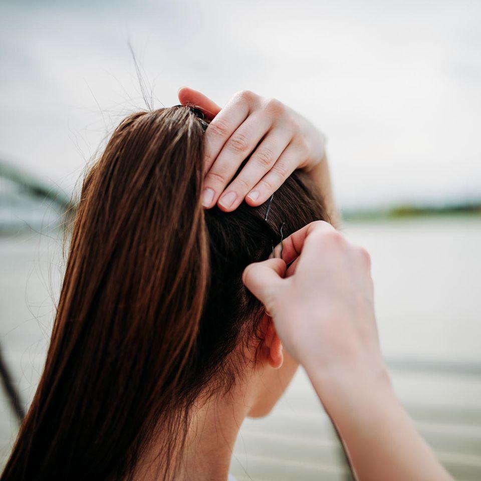 Haarklammer