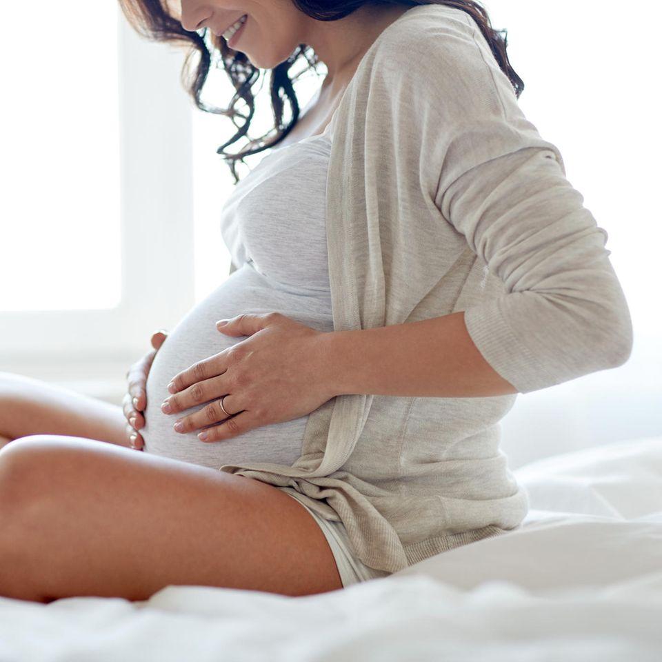 Blöde Sprüche: Schwangere Frau