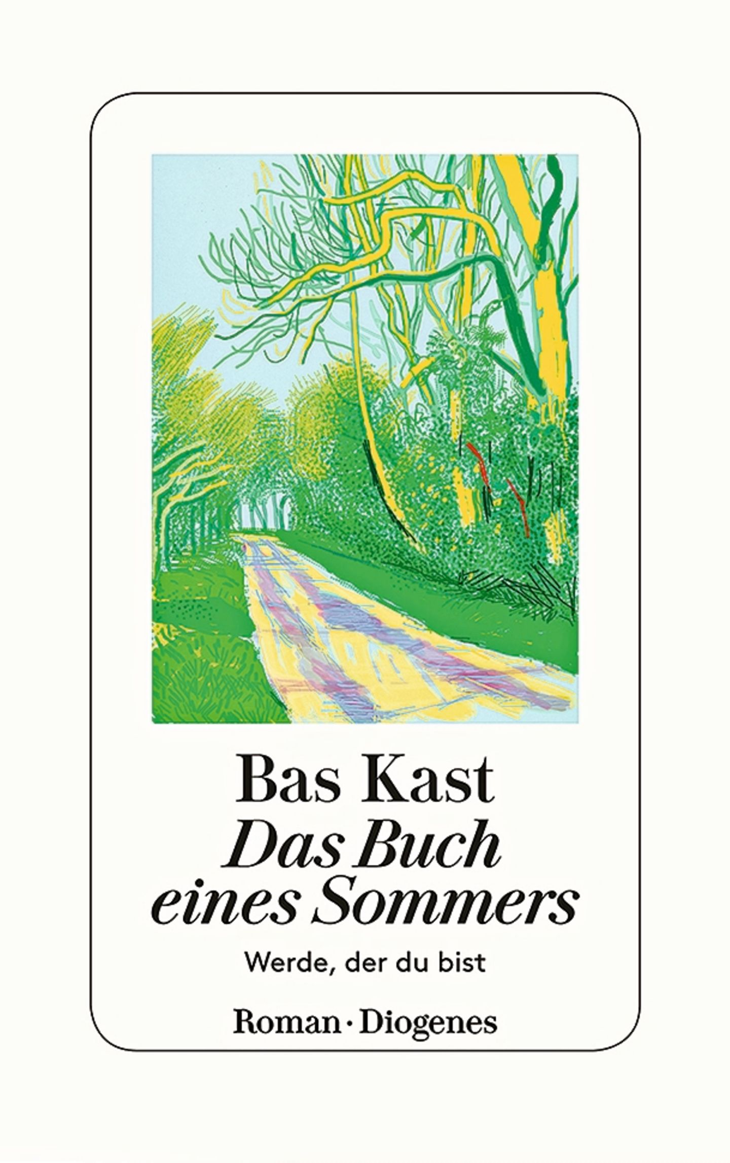 """Buchtipps der Redaktion: Buchcover """"Das Buch eines Sommers – Werde, der du bist"""""""