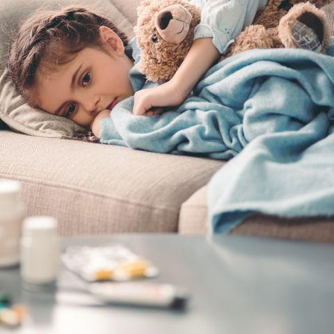 Kawasaki-Syndrom: Krankes Kind