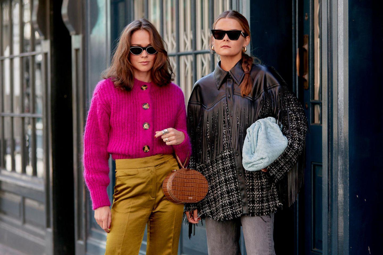 Cardigan-Trends 2020: London Fashion Week