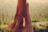 Boho-Chic: Maxikleid aus recyceltem Polyester