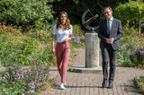 Herzogin Kate: im Park