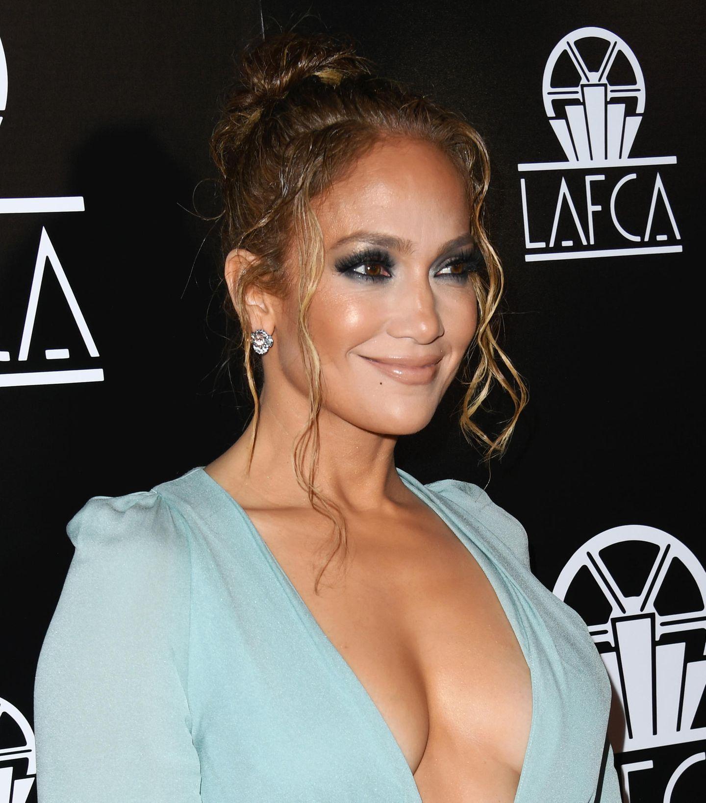 Frisuren, die jünger machen: Jennifer Lopez