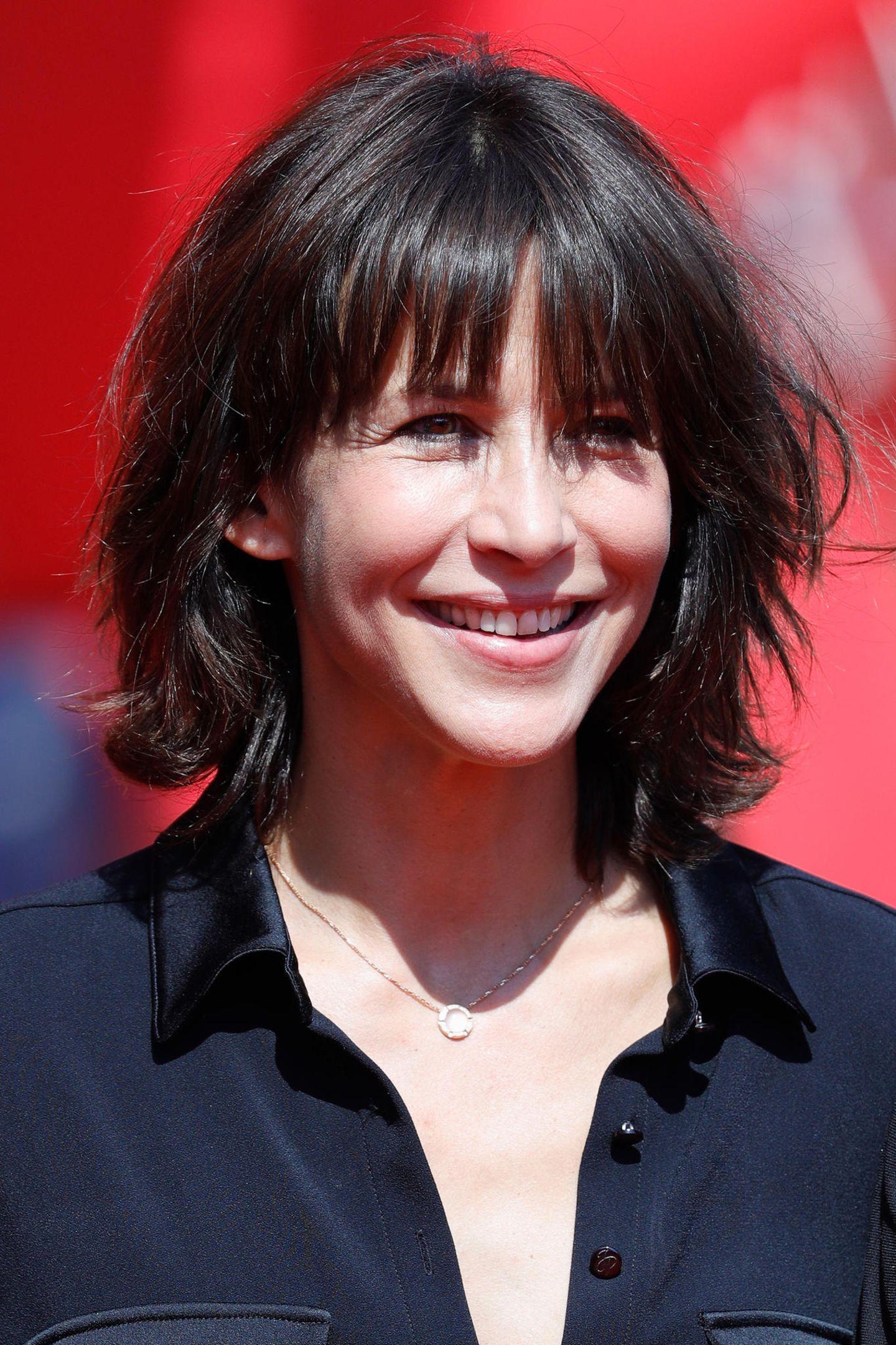 Frisuren, die jünger machen: Sophie Marceau