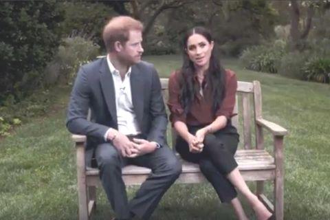 Harry und Meghan finden eindringliche Worte