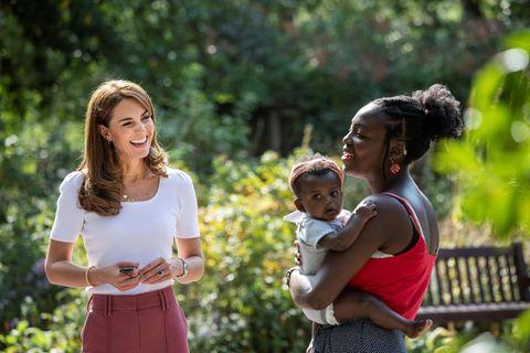 Herzogin Kate: Darum musste Prinz Louis zuhause bleiben