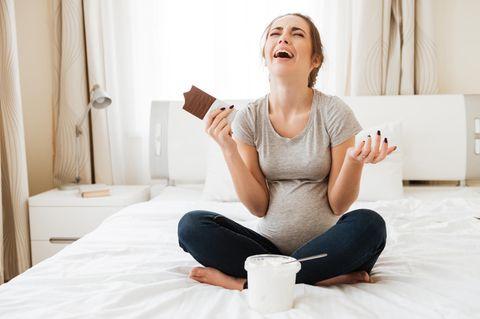 #Twitterperlen: Schwangere isst Schokolade und Eis