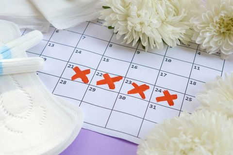 Menstruationsmythen: Kalender