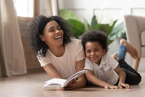 Gesundheit: Mutter und Sohn