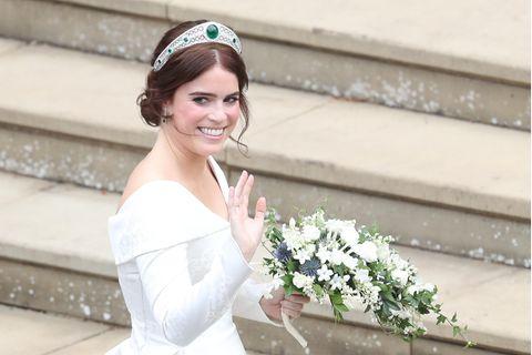 Prinzesisn Eugenie: Eugenie im Hochzeitskleid