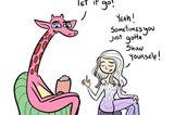 Disney-Prinzessinnen bei der Psychotherapie