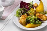 Backfisch mit Safran-Vanille-Birnen