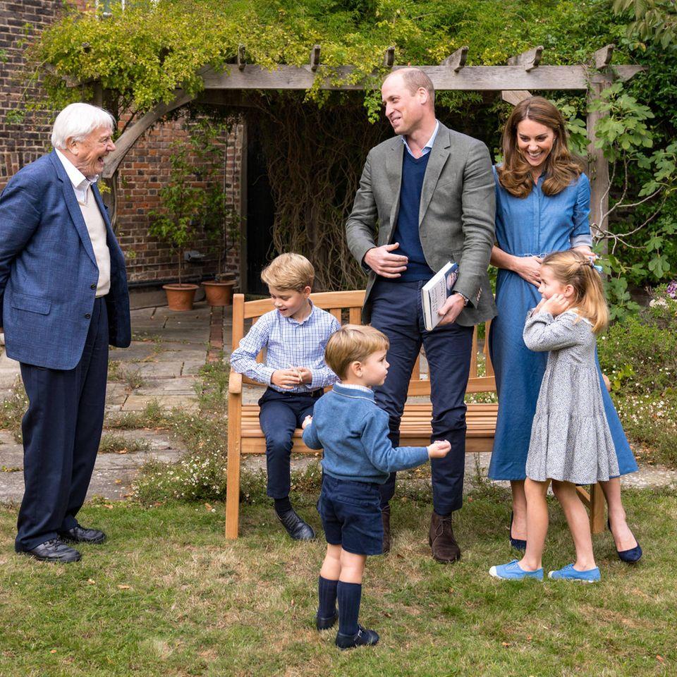 Kate und William: Versteckte Botschaft im neuen Familienfoto