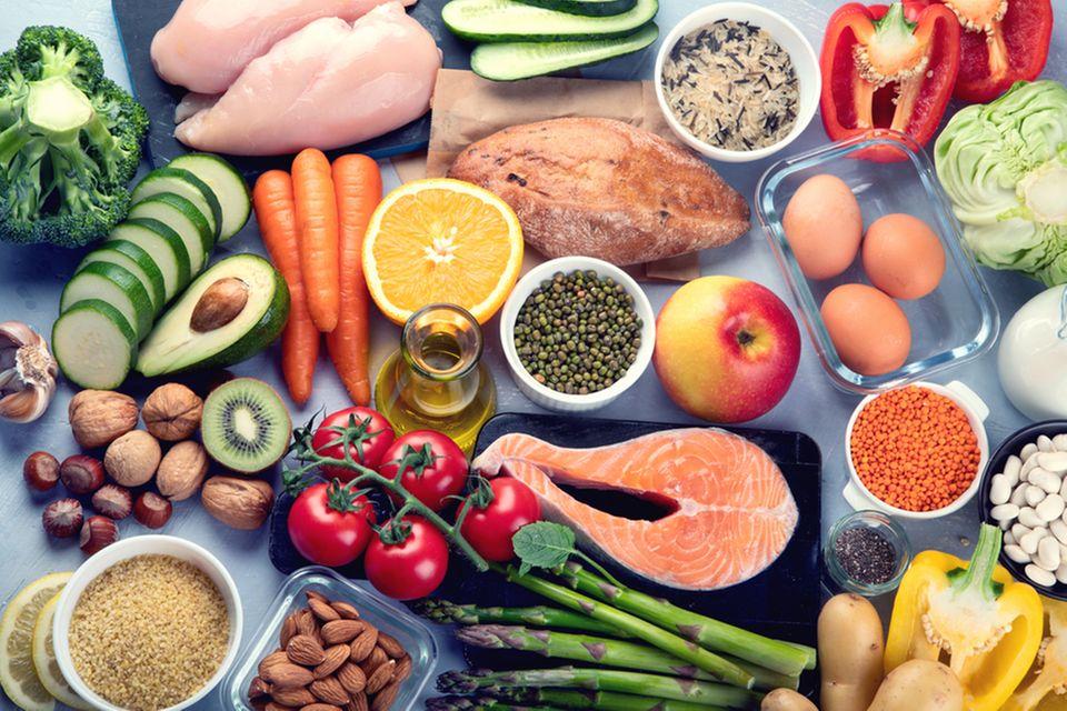 Spurenelemente: Gesunde Lebensmittel