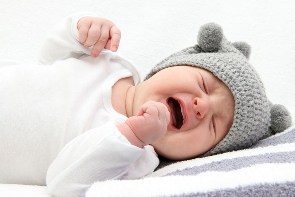 Koliken: Baby schreit