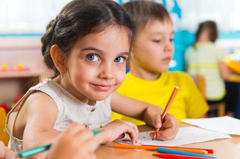 Trend: Mädchen in der Schule