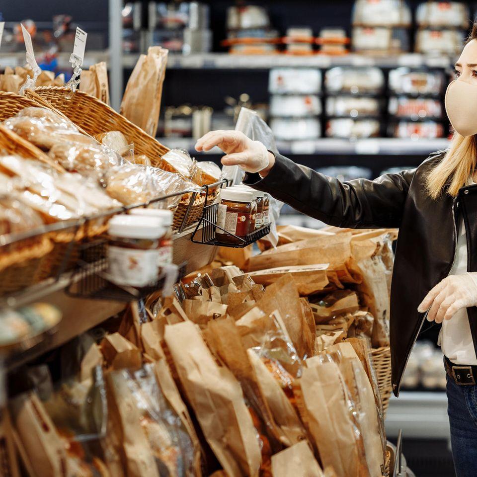 Rückruf: Backwaren im Supermarkt