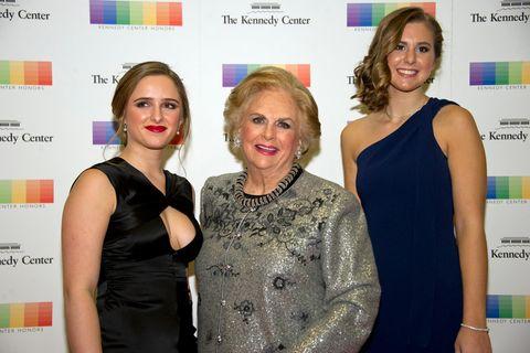Reiche Familien: Jacqueline Mars mit Graysen Airth und Katherine Burgstahler