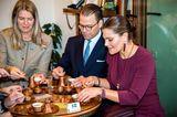 Royales Kaffeekränzchen: Prinz Daniel Und Kronprinzessin Victoria