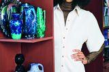 Schöne Kleider für jede Jahreszeit: Midi-Kleid mit Knöpfen