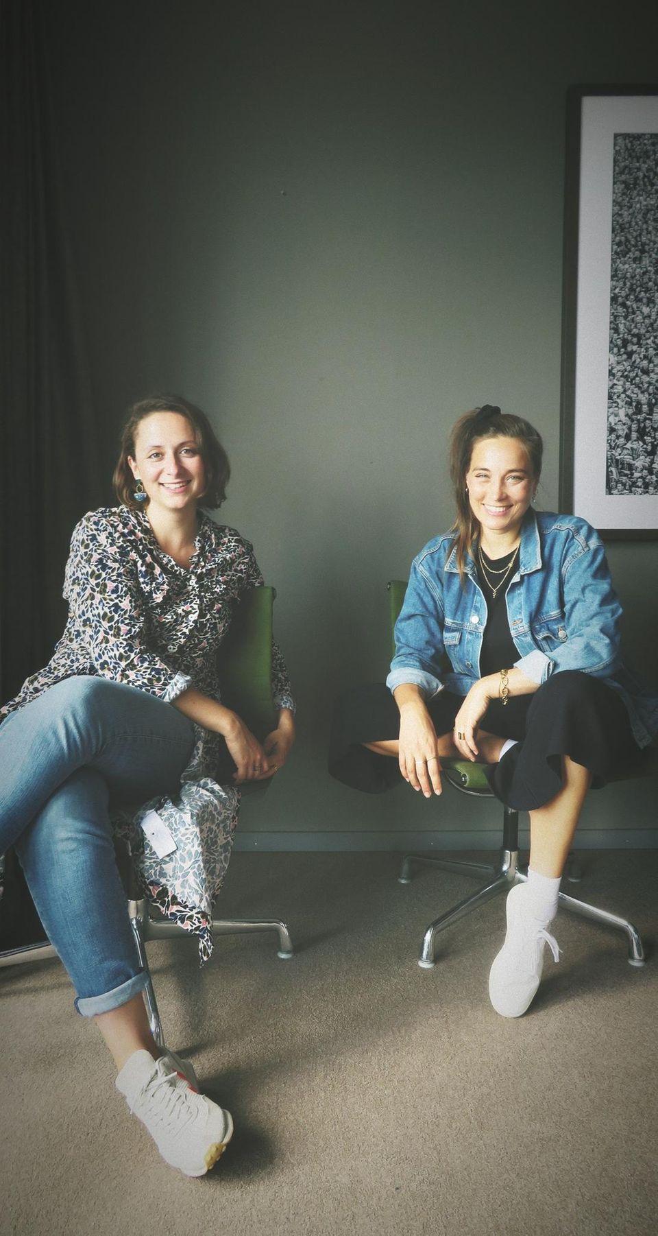 Alexandra Zykunov im Gespräch mit Ann Schunck