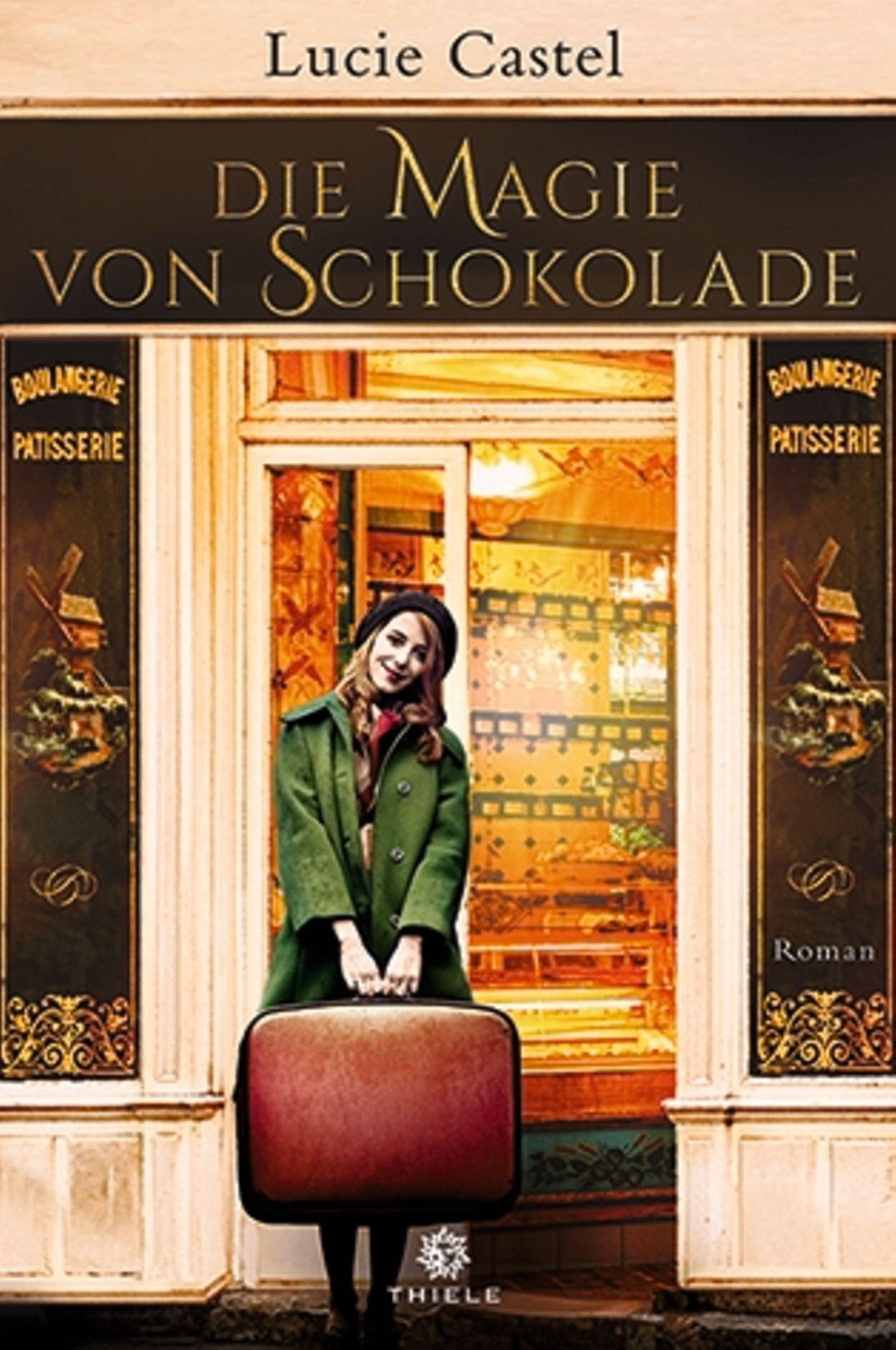 """Lesen: Buchcover """"Die Magie von Schokolade"""""""
