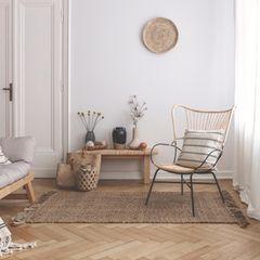 Wohntrends 2021: Wohnzimmer im natural design