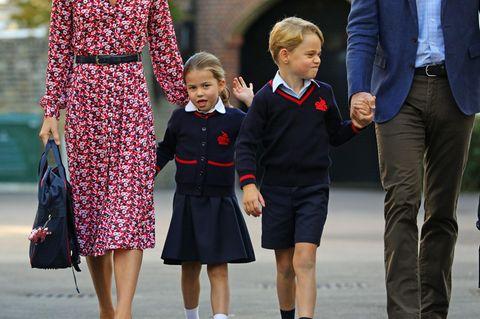 Prinz George + Prinzessin Charlotte: Wer ist der größte Frechdachs?