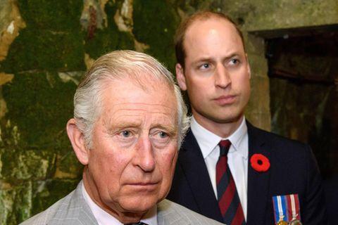 Prinz William: Zornesausbrüche und Geschrei! Vater Charles hatte es nicht leicht