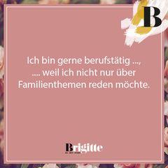 Mamaleben: Ich bin gerne berufstätig, weil ...