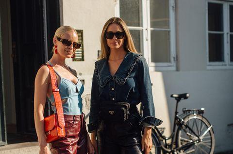 Fashion Week: Frauen mit Sonnenbrillen