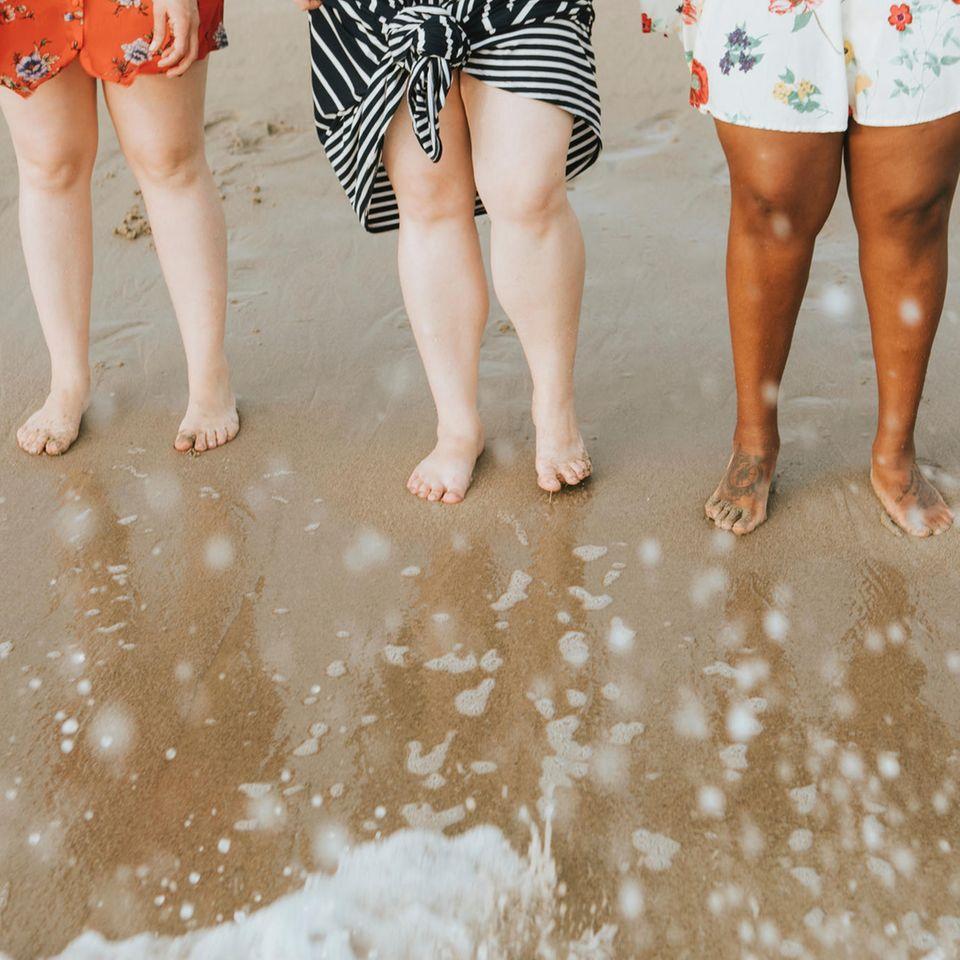 Lipödem: Frauenbeine