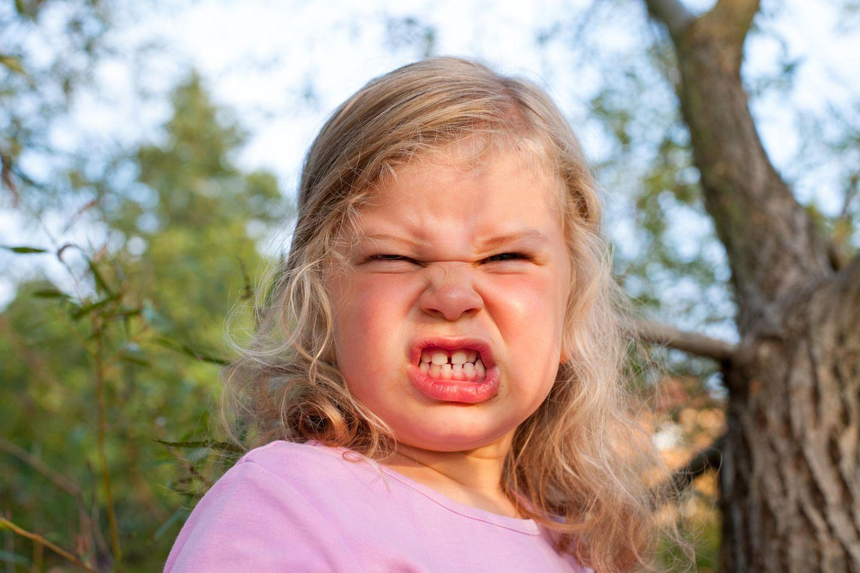 So wahr!: Wütendes Mädchen