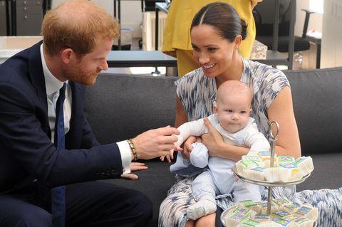 Meghan + Harry: Babyparty für Freunde