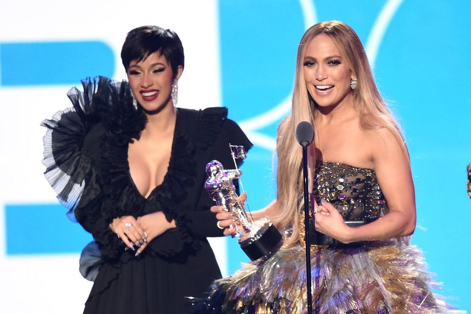 Cardi B und Jennifer Lopez