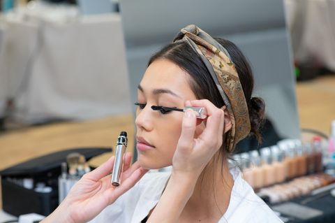 Eyeliner-Trend 2020: Dior Backstage Make-up