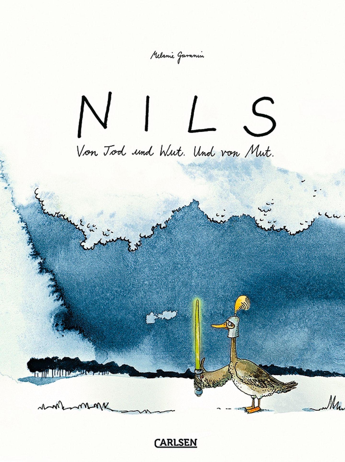 """Buchtipps der Redaktion: Buchcover """"NILS: Von Tod und Wut. Und von Mut."""""""