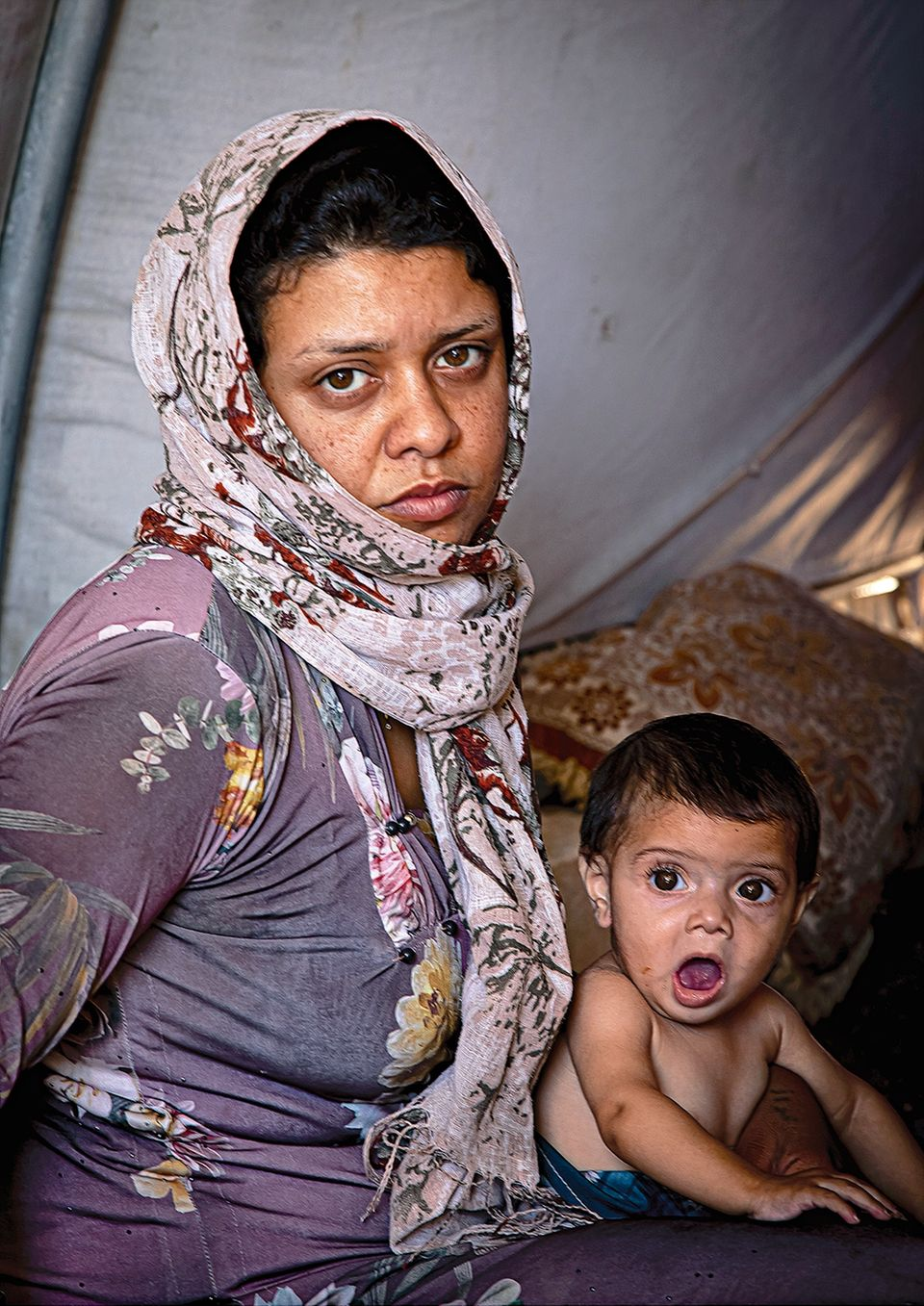 Ein Schal fürs Leben: Mutter in Sorge