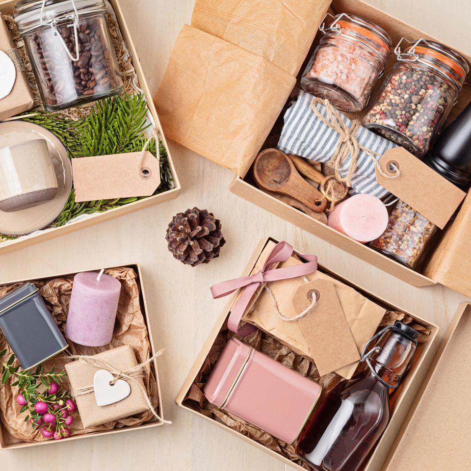 Geschenke aus der Küche: Eiskonfekt