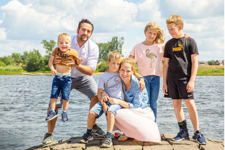 Organspende: Edda mit ihrer Familie